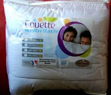 COUETTE TRÈS CHAUDE 220/240  750gr m2  microfibres Made in France EXTRAORDINAIRE