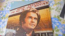 Merle Haggard It's All In The Movies Sealed Vinyl  LP 1976