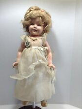 """Vintage 1930s Ideal Shirley Temple Composition Doll Near Mint 18"""""""