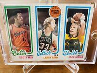 1980-81 Topps 🏀 Larry Bird Rookie Card / HOF Boston Celtics PSA Gradable BGS