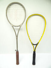 Speed Bird Yellow Squash Profile Wilson Dual Tapered Beam Badminton Rackets