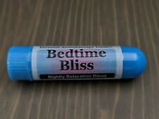 BEDTIME BLISS Essential Oil Personal AROMATHERAPY Inhaler- Relaxation Blend