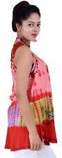 Wholesale New  Tunic Summer Fabric Rayon Women Short Sleeve top NN