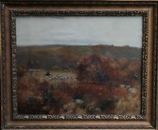 David Foulton Rws 1848-1930 paisaje pintura al óleo arte escocés impresionista