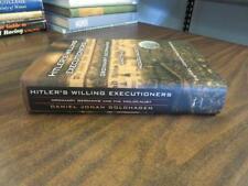 Hitler's Willing Executioners Daniel Jonah Goldhagen SIGNED HC 1997 FREE SHIP