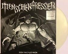 """Menschenfresser """"Der Nachzehrer"""" CLEAR vinyl LP [German Horror Death/Thrash]"""
