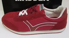 Madden by Steve Madden Size 13  Red Leather Sneakers New Mens Shoes