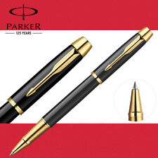 Business Full Metal Parker IM Rollerball Pen 0.5mm Nib Golden clip Office school