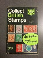 1969 Collect British Stamps 4th Edition Paperback Stanley Gibbons Checklist
