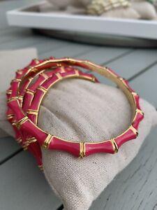 Stella & Dot Julep Bangle - Bracelet Gift Pink Gold Fits Medium Wrist