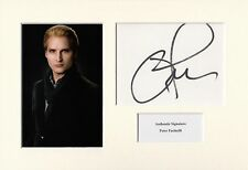 PETER FACINELLI AUTHENTIC SIGNED TWILIGHT A4 PHOTO DISPLAY AFTAL & UACC [14448]