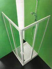 Box,cabina doccia Vela angolare 4 ante cm.75-70x90-85 riducibile,Cristallo Forte