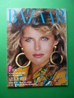 Harper's BAZAAR ITALIA Aprile 1987 4 April MADONNA Cindy Lauper Belinda Carlisle