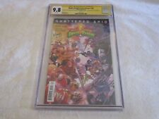 CGC SS 2018 9.8 SDCC Signed by Ninja Steel Cast Mighty Morphin Power Rangers #28