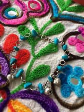 Turquoise And Bell Bracelet