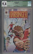 HARBINGER #2 - CGC 9.4 - 1ST ROCK - 3790987011