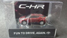 TOYOTA CHR LED Light Keychain Red PullBack Mini Car Not Sold in stores JAPAN