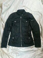 MASSIMO REBECCHI girl giubbottino jacket nero black size 44  antipioggia estivo