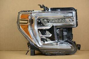 Nice! 19 20 21 GMC Sierra 1500 Right Passenger RH Full LED Headlight OEM Light