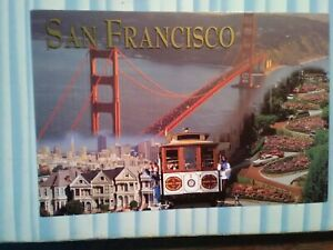 NEW PHOTO POST CARD AERIAL VIEW SAN FRANCISCO CALIFORNIA