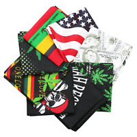 "Pack of 8 100% Cotton Assorted Bandanas 22""x22"" outdoor protection For man Gift"