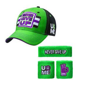 Hat cap Wristbands Sweatband boys mens for John Cena WWE children sun shirt