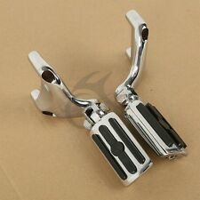 Footrests Mounting Brackets & Foot Pegs fit For Harley 883 1200 Sportster 04-13