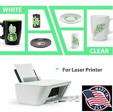 10 Sheets Laser Waterslide Decal Paper Clear 85 X 11 Made In Usa Not China 1