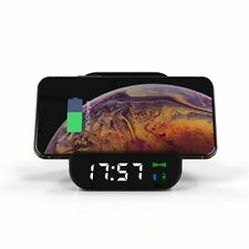 Wireless Charging Mobile Power Bluetooth Speaker Alarm Clock Bluetooth Speaker