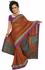 mousseline Bollywood Carnaval SARI ORIENT INDE fo363