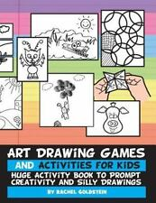 Art Drawing Games and Activities for Kids : Huge Activity Book to Prompt Crea...