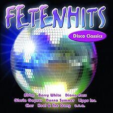 """FETENHITS-DISCO CLASSICS (u.a """"Donna Summer"""", """"The Temptations"""")  CD NEU"""