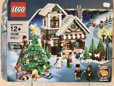 Lego 10199 weihnachtlicher Spielzeugladen 100% Komplett Winter Village Toy Shop