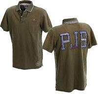 PARAJUMPERS BRANDON Herren Piquè- Polo - Shirt Poloshirt Polohemdl Gr. L Army