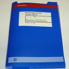 Reparatiebrochure Handbuch VW Passat B 5 Simos inspuit- en ontstekingssysteem