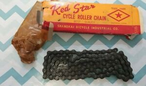 Red Star Cycle Roller Chain Vintage Bike