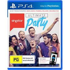 PS4 Singstar Ultimate Party Game for Playstation 4 Brand New Sealed Region 4