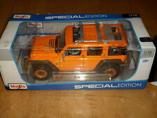 Jeep - Rescue Concept, Die Cast Metal Maisto Factory Toy,Scale 1:18