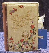 Disney Danielle Nicole Beauty and the Beast Book Handbag/ Pocketbook Purse