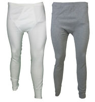 EX M & S MENS THERMAL LONG JOHNS BOTTOMS WITH ELASTICATED WAIST & BOTTOM S-XL