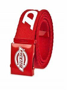 Dickies Men's 35MM Logoed Cotton Web Belt One Size