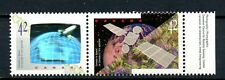 Canada MNH #1441-42 Right Pair Canada in Space Shuttle Satellite 1992 K356