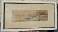 Old Impressionist Panorama Landscape Painting  Mystery Artist Open Bid 19.99