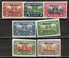 Austria Architecture Famous Imperial Parliament Building stamps 1919 MLH imperf