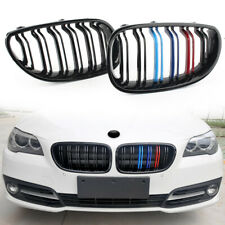 M-Color Front Kidney Grill Grille Gloss Black for 2003-2010 BMW E60 E61 5 Series