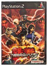 Tekken 5 JAPAN Ps2 PlayStation 2 Factory Sealed New Free US Shipping Nice JAPAN