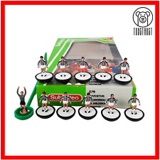 More details for juventus / udinese subbuteo team ref 579 vintage table football soccer toy lw