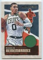 MINT 2019-20 Panini NBA Hoops JAYSON TATUM Rookie Remembrance Patch #RR-JTT