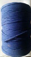 1 mètre soutache cordonnet bleu 3mm idéal pour réparer képi mod.1884