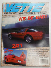 Vette Magazine LS5 Roadster & The Lowenthal Collection July 1989 050615R